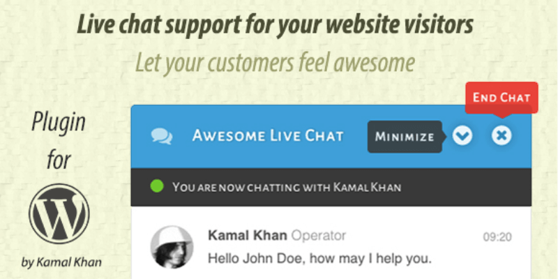 Live-chat plugin
