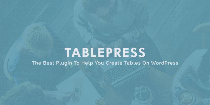 table-press wordpress plugin.